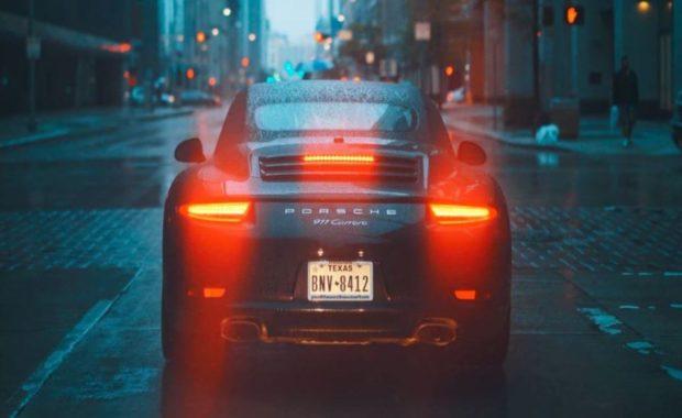 Porsche History Rear View
